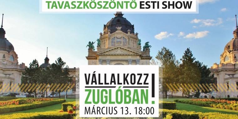 Vállalkozz Zuglóban! Klapka Story- Franchise -Esti show